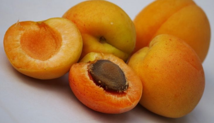 Abrikozen met kaas