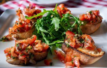 Bruschetta met rozemarijn en witte bonen